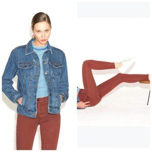 UNPUBLISHED Rust Red Stretchy Skinny Jeans
